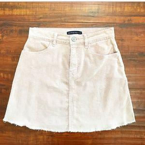 Brandy Melville Corduroy Mini Skirt Size M